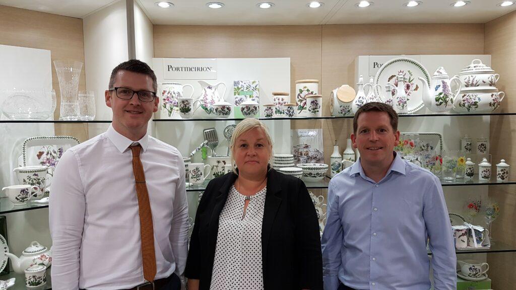 Portmeirion Group UK Ltd upgrade to Cashbook v5.8